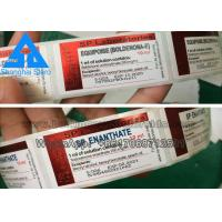 Buy cheap Custom Printed Hologram Pharmaceutical Vial Labels for Anabolic Steroid from wholesalers