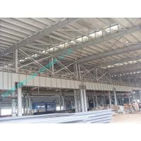 Buy cheap Light Weight Pre-engineered Steel Building With Corrugated Sheet Surrounding from wholesalers