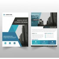 Buy cheap Ultra Flat Corporate Business Brochure , Recycled Corporate Bifold Brochure product