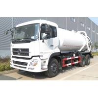 Buy cheap Dongfeng 18cbm 18000 Liters Road Cleaning Truck 18t 20 Tons Fecal Sewage Suction Truck from wholesalers