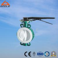 Buy cheap Wafer Lug PTFE/PCTFE/FEP/PFA Lined Butterfly Valve (GAD71F) from wholesalers