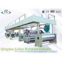 Buy cheap High Quality 1200-2400 Complete Single Face Papaerboard Corrugated Carton Machine from wholesalers