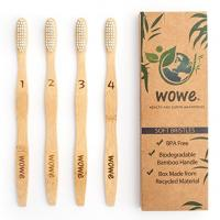Buy cheap OEM Welcome Wholesale BPA Free Bristles Natural 100% household toothbrushBamboo Toothbrush household toothbrush from wholesalers