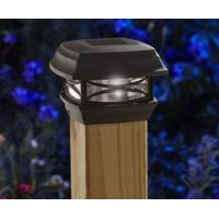 Buy cheap Black Finish Solar Post Cap Lamp Weather Resistant For Outdoor Installation from wholesalers