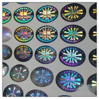 Buy cheap Custom high quality hologram label in guangzhou ,hologram sticker label printing from wholesalers