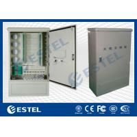 Buy cheap Wall Mounted Outdoor Distribution Box Optic Fiber Cross Connect Cabinets from wholesalers