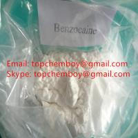 Buy cheap Pure Benzocaine Powder , Pain Reliever Powder For Topical Anaesthesia CAS 94 09 7 from wholesalers