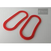 Buy cheap Red Color Shopping Bag Carry Handle , Plastic Handles For Bags 3.5cm Width product