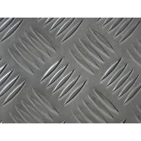 Buy cheap 6061 T6 Aluminum Diamond Tread Plate , Heat Insulating Diamond Plate Sheets product