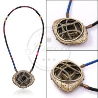 Buy cheap Marvel Props Doctor Strange Necklace Eye Of Agamotto Amulet Fluorescent Glow from wholesalers