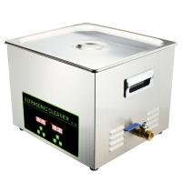 Buy cheap Lab Ultrasonic Dental Cleaning Machine Stainless Steel 15L Multiple Frequency from wholesalers