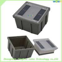 Buy cheap IP68 Professional Manufacturer square appearance led solar ground lights from wholesalers