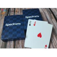 China Embossing Custom Printed Playing Cards With 4C Printing In Customized Box on sale