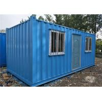 Buy cheap Labor Camp Storage Container Homes , Mining Camp Sea Containers House from wholesalers