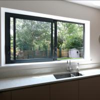 Buy cheap Aluminium windows aluminium frame sliding glass window aluminium window grill product
