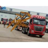China Self Loading Side Loader Container Truck , Side Lifter Trailer For Transport on sale