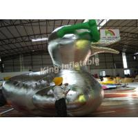 Buy cheap Customized Big inflatable Duck character cartoon/ animal for advertising from Wholesalers