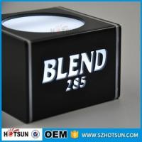 Buy cheap Mblack acrylic lighted led wine display led counter display led from wholesalers