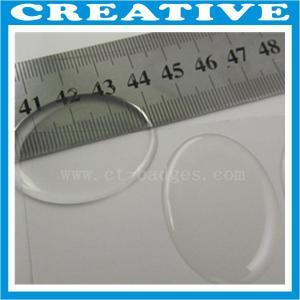 Buy cheap 40mm x 30mm custom clear epoxy sticker product