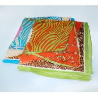 Buy cheap Small MOQ Wholesale Solid Color Square Silk Scarf in Stock product