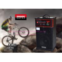 Buy cheap Outdoor Portable Trolley Speaker System , Rechargeable Speaker Box On Wheels from wholesalers
