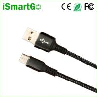 Buy cheap 1m Durable Fishing Net USB Data Sync Phone Charge Cable Factory Price & OEM from wholesalers