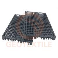 Buy cheap Drain Cell Geocomposite Drainage Net High Strength HDPE Black 400mm*400mm*30mm from wholesalers