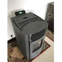 Buy cheap Green Energy Saving Indoor Pellet Stove Remote Control Low Carbon No Smoke from wholesalers