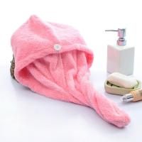 Buy cheap 12 Colors Microfiber Hair Dry Towels Velour Printed Border And Customized Size from wholesalers