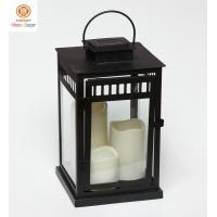 Buy cheap Camping Hiking Eco-friendly Outdoor Solar Lanterns Light of Metal frame from wholesalers