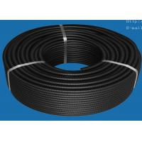Buy cheap PVC PA PP PE Plastic Automotive Wiring Accessories , Flexible Corrugated Tube from wholesalers