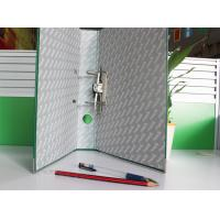 Buy cheap Non - Toxic 2 / 3 Inch Green Paper File Folder With Lever Arch File Covers from wholesalers