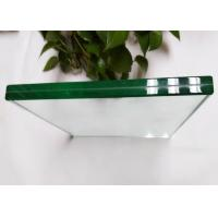 Buy cheap High Density Laminated Tempered Glass , Ultra Clear Bathroom Shower Glass from wholesalers
