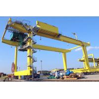 Buy cheap 50T Movable Shipping Container Crane , RMG Rail Mounted Gantry Crane from wholesalers