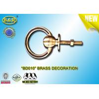 Buy cheap BD010 Brass Handle Ring Shape Funeral Decoration Material Copper Alloy Coffin Decoration from wholesalers