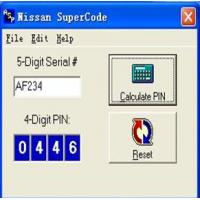 Buy cheap NISSAN SUPERCODE from wholesalers