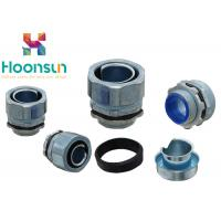Buy cheap 3 / 4  Male Waterproof Conduit Connectors Metal Conduit Fittings For Liquid Tight Conduit from wholesalers