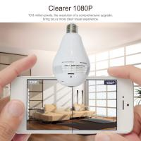 Buy cheap Home Security New Product 960P 360 Degree Panoramic Security Wireless Camera P2P IP WiFi Hidden CCTV Light Bulb Camera from wholesalers