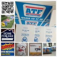 Buy cheap 24x18 3mm 4mm coroplast sign/ real estate sign/ lawn sign / corflute sign from wholesalers