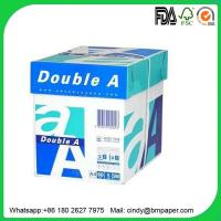 Buy cheap Pure white  wood pulp a4 paper 70g office paper copy paper 500 sheets one pack from wholesalers