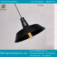 Buy cheap Industrial Retro Vintage Black Pendant Lamp Ceiling Light Home Lighting Fitting from wholesalers