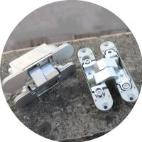 Buy cheap invisible hinge 3d Zamac invisible hinge 180 degree adjustable hinges from wholesalers