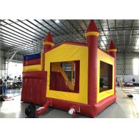 Buy cheap Red Inflatable Bounce House With Slide For Children Play / Garden Bouncy Castle from wholesalers