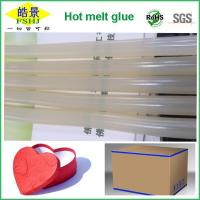 China Translucent EVA White Hot Glue Sticks Quick Drying Hot Melt Adhesive Stick on sale