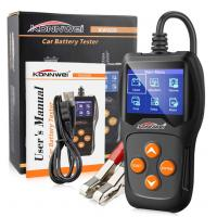 Buy cheap Portable Car Battery Tester With Printer Checking Internal Resistance Value Unique Pattern Design from wholesalers