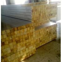 Glass Wool Insulated Roof Panels Foam Insulation Panels 80Mm Thickness
