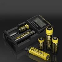 Buy cheap Nitecore D2 2 slot Charger with LCD Display Universal Smart Charger For 18650 Batteries IMR/ Li-ion/ LiFePO4/ Ni-MH/ Ni- from wholesalers