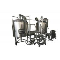 Buy cheap 300L Stainless Steel Small Brewing Equipment Beer Fermentation Cooling Jacket from wholesalers