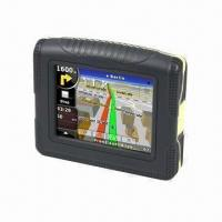 Buy cheap 3.5 inches Bluetooth waterproof GPS for bikers, car and hiker from wholesalers
