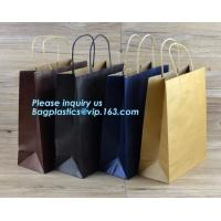 Buy cheap Portable Promotional Custom Packaging Bag Grocery Paper Bag Handle,eco friendly newest luxury wedding dress paper bag from wholesalers